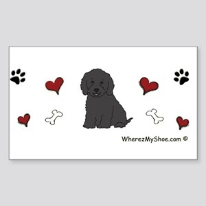 cockapoo Sticker (Rectangle)
